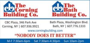 Corning Building Company Photo Blog Ad