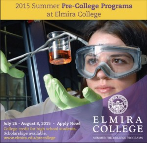 Elmira College Photo Blog Ad